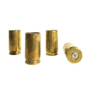 9mm brass once fired for reloading