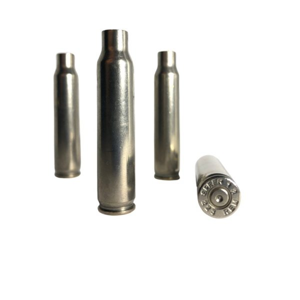 223 nickel plated brass for sale