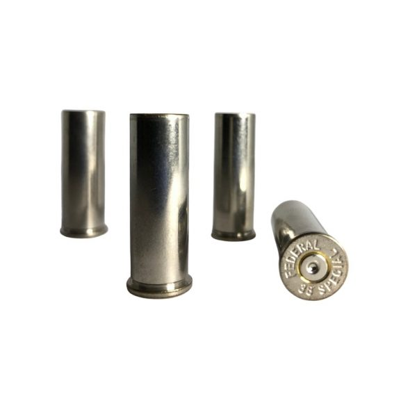 .38 Special nickel plated casings for reloading