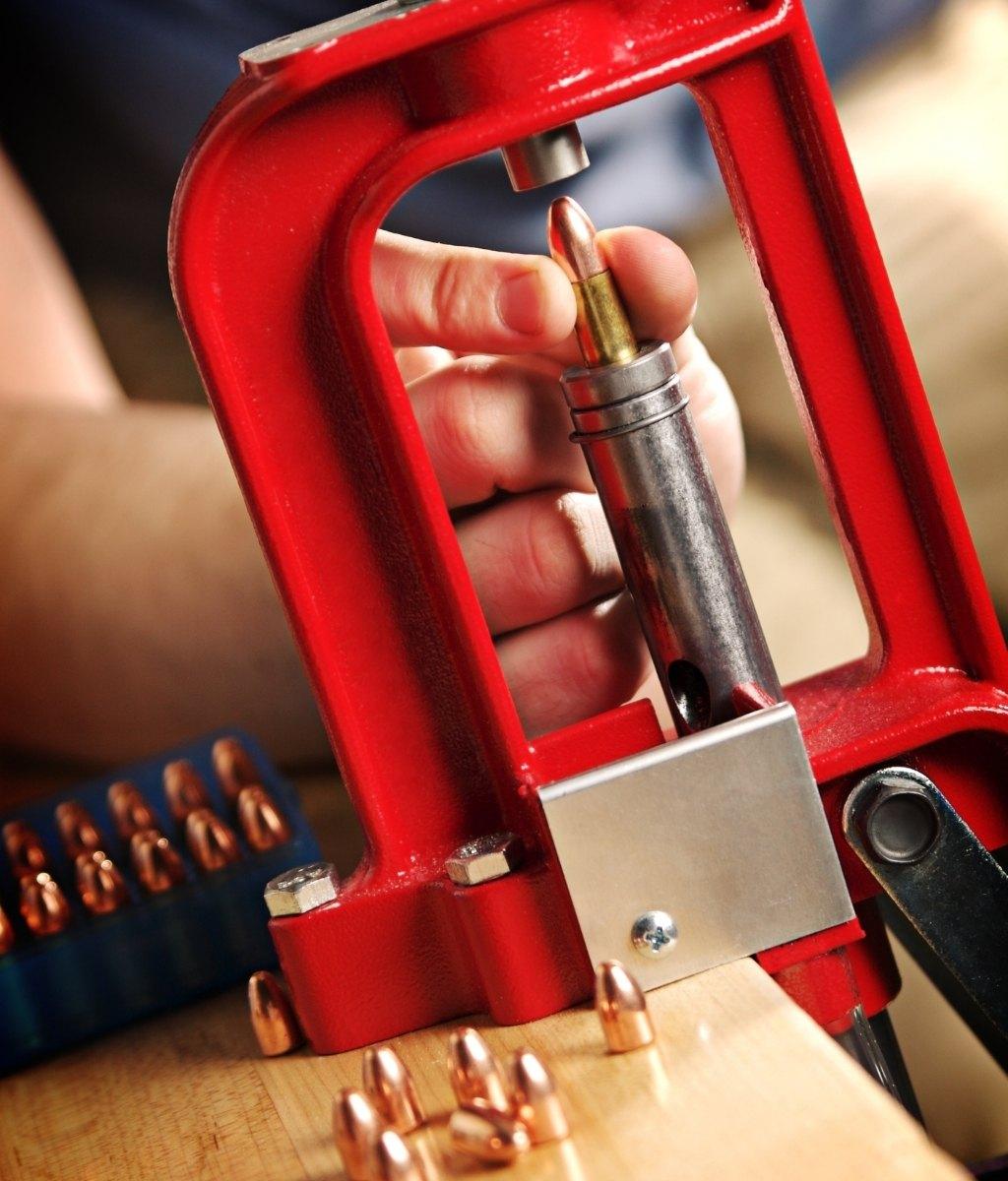 Brass bullet casings for reloading