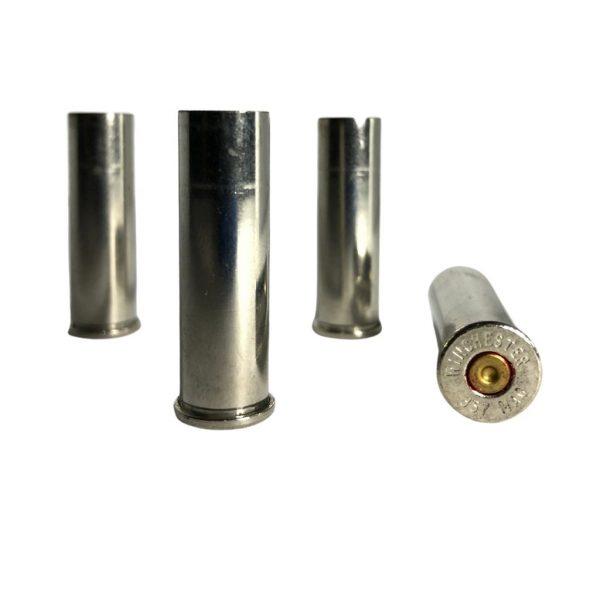 357 Magnum Nickel Plated Brass