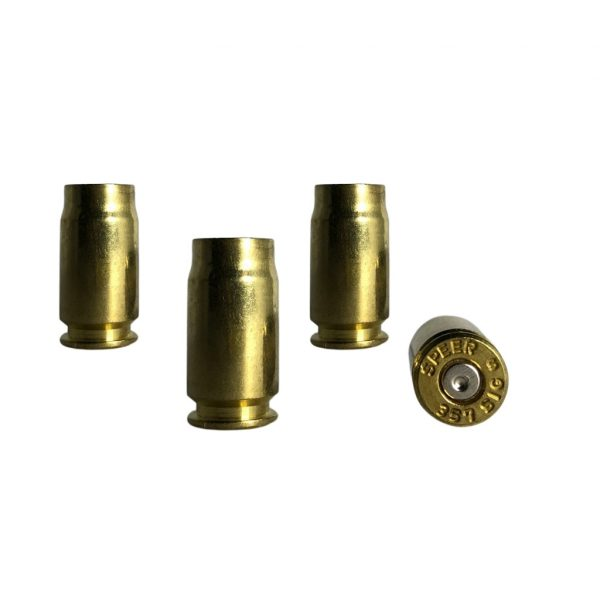 once fired 357 sig brass for reloading