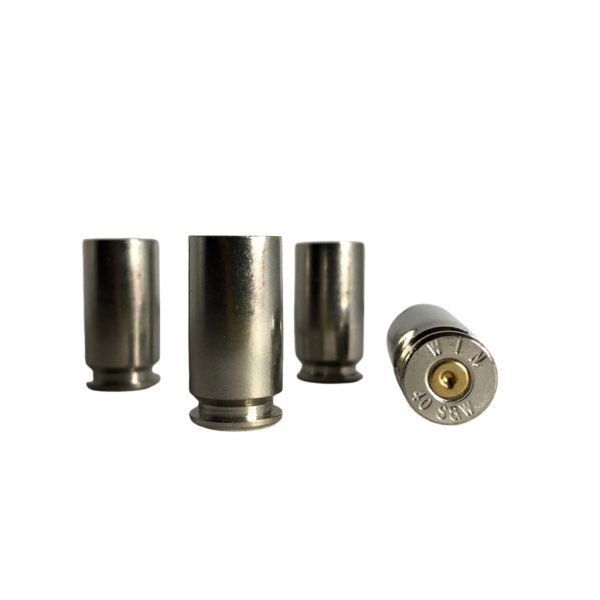 40 S&W Nickel Plated Brass for reloading